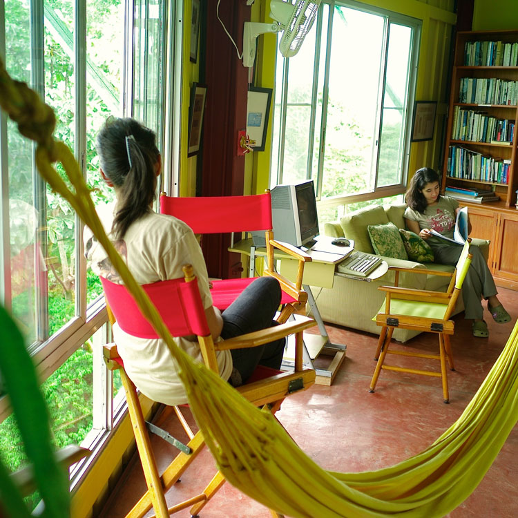 Canopy Tower Activities - NonBirder Activities - Hammock